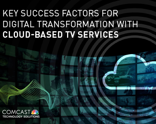 Key Success Factors for Digital Transformation with Cloud-Based TV Services
