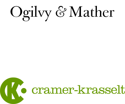 Ogilvy Mather and Cramer Krasselt Logo